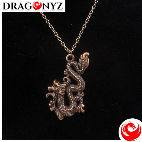 DRAGON NECKLACE - FLY CHINESE