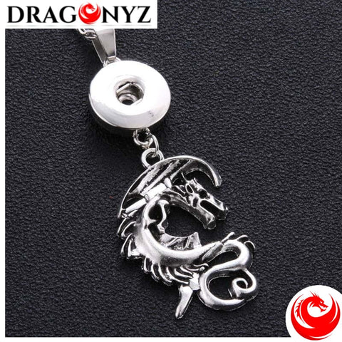 DRAGON NECKLACE - FLY DRAGON SNAP