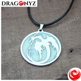 DRAGON NECKLACE - GLOW IN THE DARK