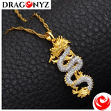 DRAGON NECKLACE - GOLD WOMEN