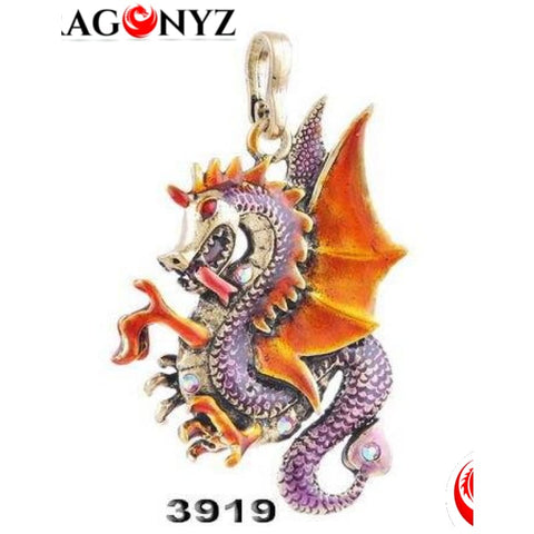 DRAGON NECKLACE - GORGEOUS ANTIQUE