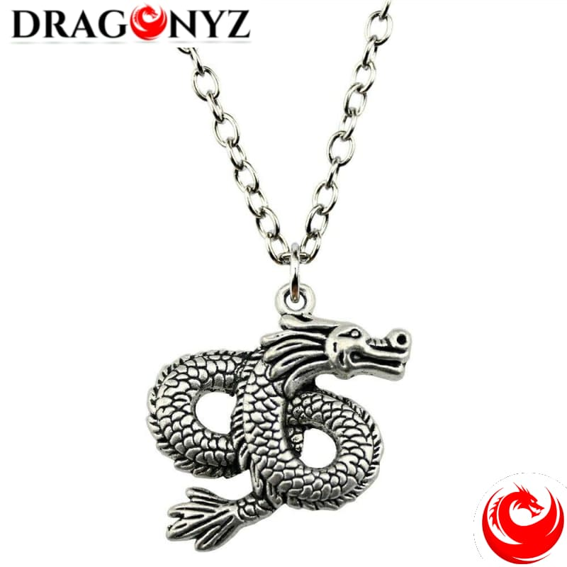 DRAGON NECKLACE - INFINITY