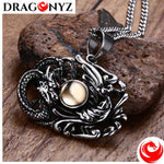 DRAGON NECKLACE - MENS CHINESE