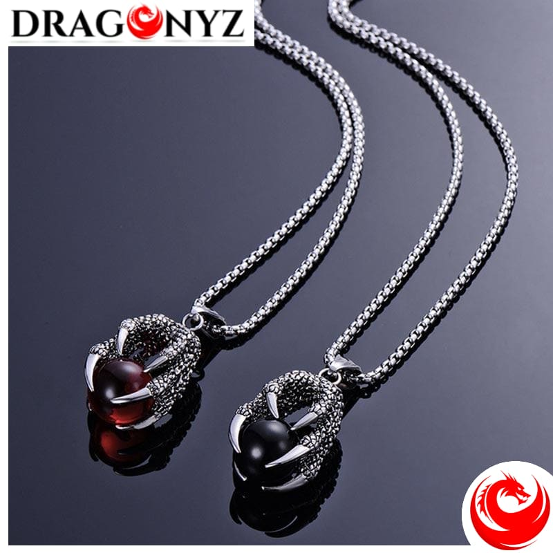 DRAGON NECKLACE - RED BEIER