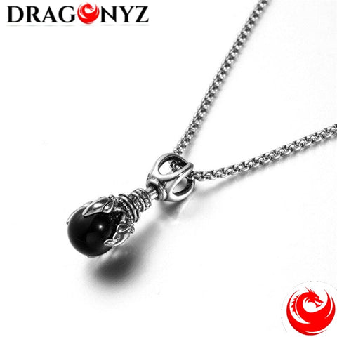 DRAGON NECKLACE - ROTATABLE BALL
