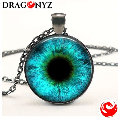 DRAGON NECKLACE - ROUND EYE