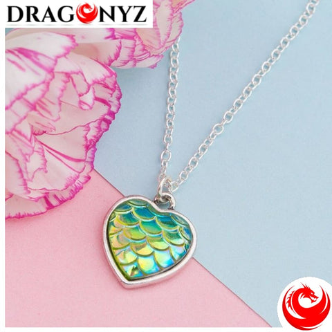 DRAGON NECKLACE - SCALE SILVER