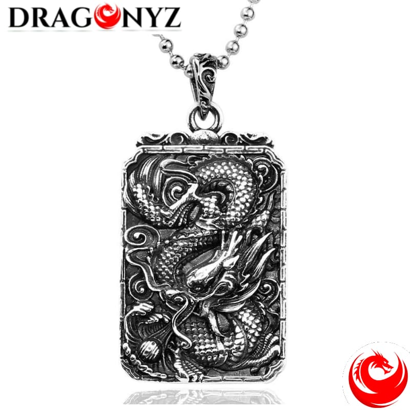 DRAGON NECKLACE - STEEL SOLDIER