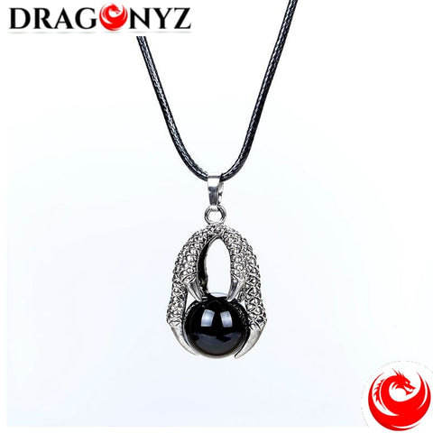 DRAGON NECKLACE - STONE BALL