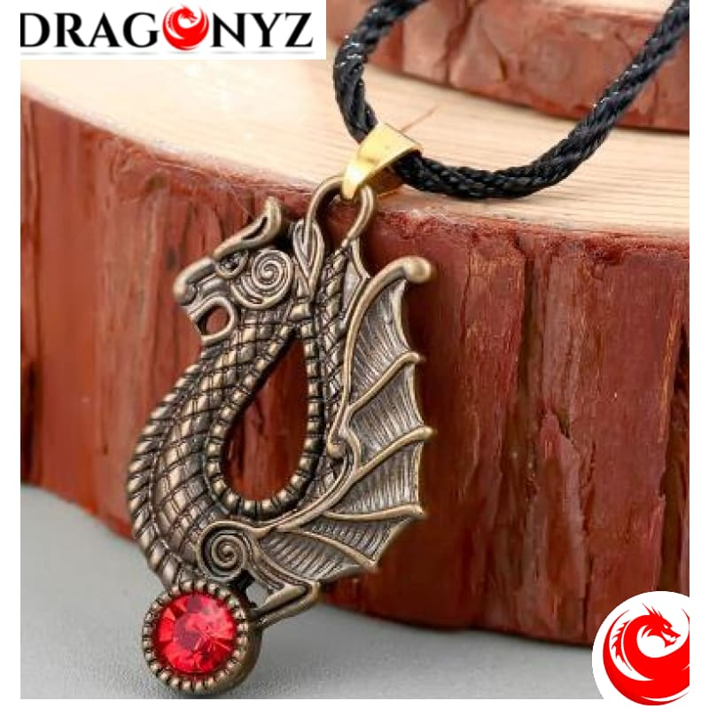 DRAGON NECKLACE - STYLE SLAVIC