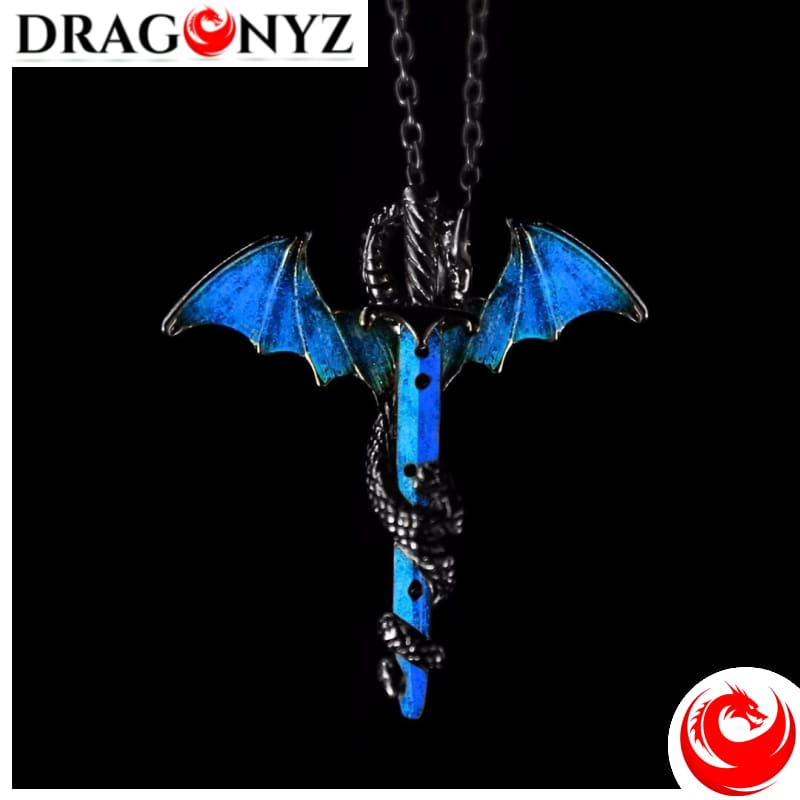 DRAGON NECKLACE - SWORD LUMINOUS