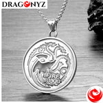 DRAGON NECKLACE - THREE HEADS