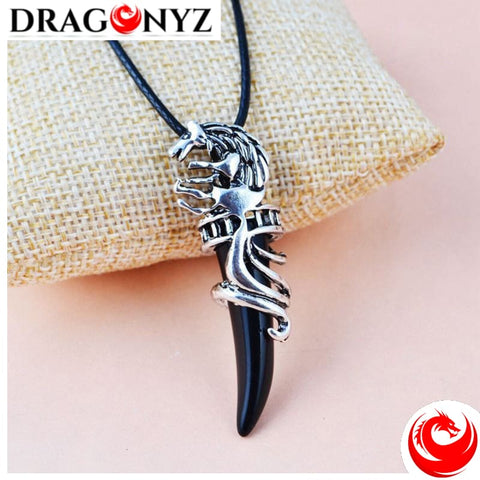 DRAGON NECKLACE - TOOTH VINTAGE