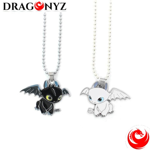 DRAGON NECKLACE - TOOTHLESS