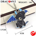 DRAGON NECKLACE - TOOTHLESS NIGHT FURY