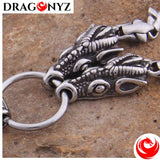 DRAGON NECKLACE - VIKING DOUBLE DRAGON