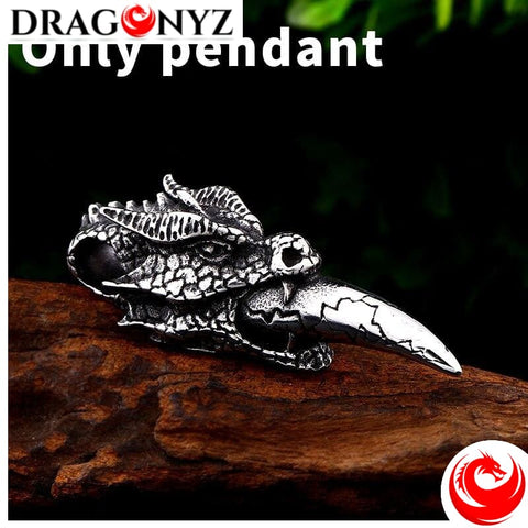 DRAGON NECKLACE - VIKING NORSE