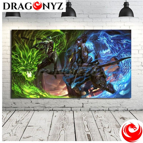 DRAGON PAINTING - ART WALLPAPERS