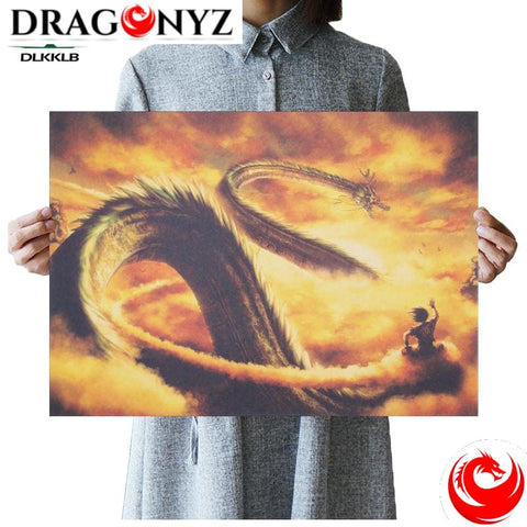 DRAGON PAINTING - DRAGON BALL