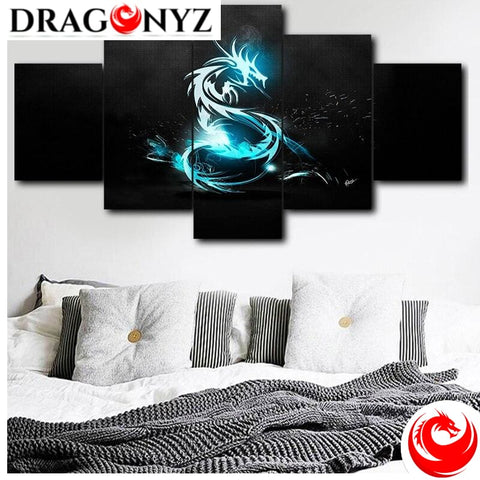 DRAGON PAINTING - BLUE DRAGON