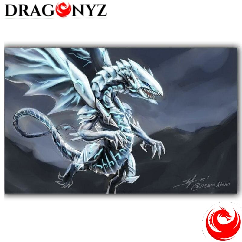 DRAGON PAINTING - BLUE EYES