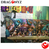 DRAGON PAINTING - ENTER THE DRAGON