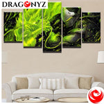 DRAGON PAINTING - GREEN