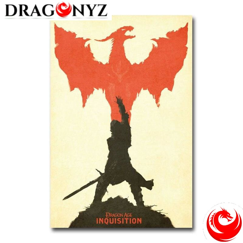 DRAGON PAINTING - INQUISITION