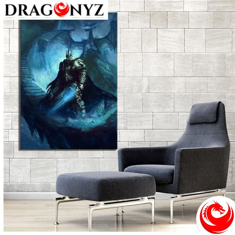 DRAGON PAINTING - KING WORLD OF WARCRAFT DRAGON