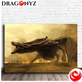 DRAGON PAINTING - MOTHER OF DRAGON 2