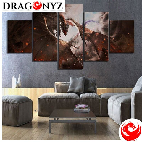 DRAGON PAINTING - MOVIE POSTER