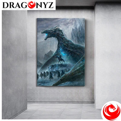DRAGON PAINTING - NIGHT KING