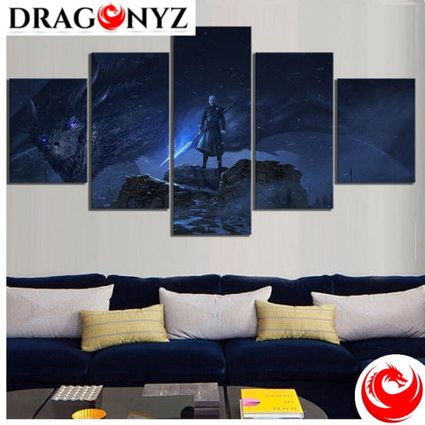 DRAGON PAINTING - DRAGON NIGHT KING