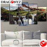 DRAGON PAINTING - ON THE TOOSE