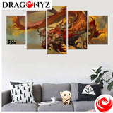 DRAGON PAINTING - ORIENTAL CULTURE