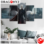 DRAGON PAINTING - DRAGON QUEEN DAENERYS