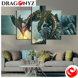 DRAGON PAINTING - THE ELDER SCROLLS