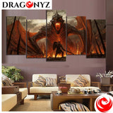 DRAGON PAINTING - THE DRAGON FURY