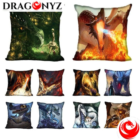 DRAGON PILLOW - DIFFERNT IMAGE