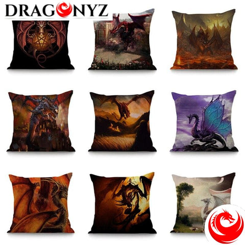 DRAGON PILLOW - FLYING