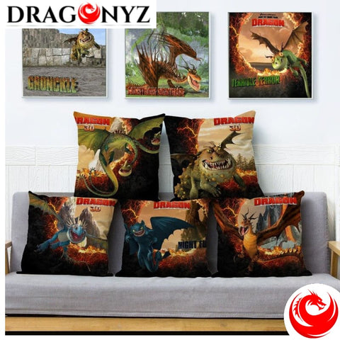DRAGON PILLOW - TOOTHLESS