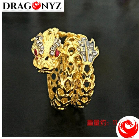 DRAGON RING - BEST QUALITY YELLOW GOLD