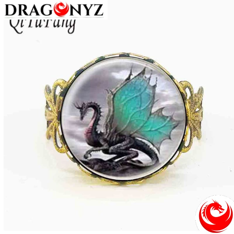 DRAGON RING - FANTAISIE
