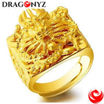 DRAGON RING - GOLD COLOR