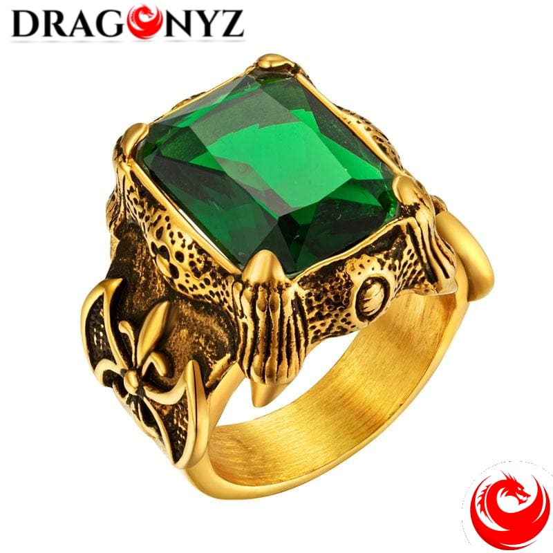 DRAGON RING - GOLDEN STYLE