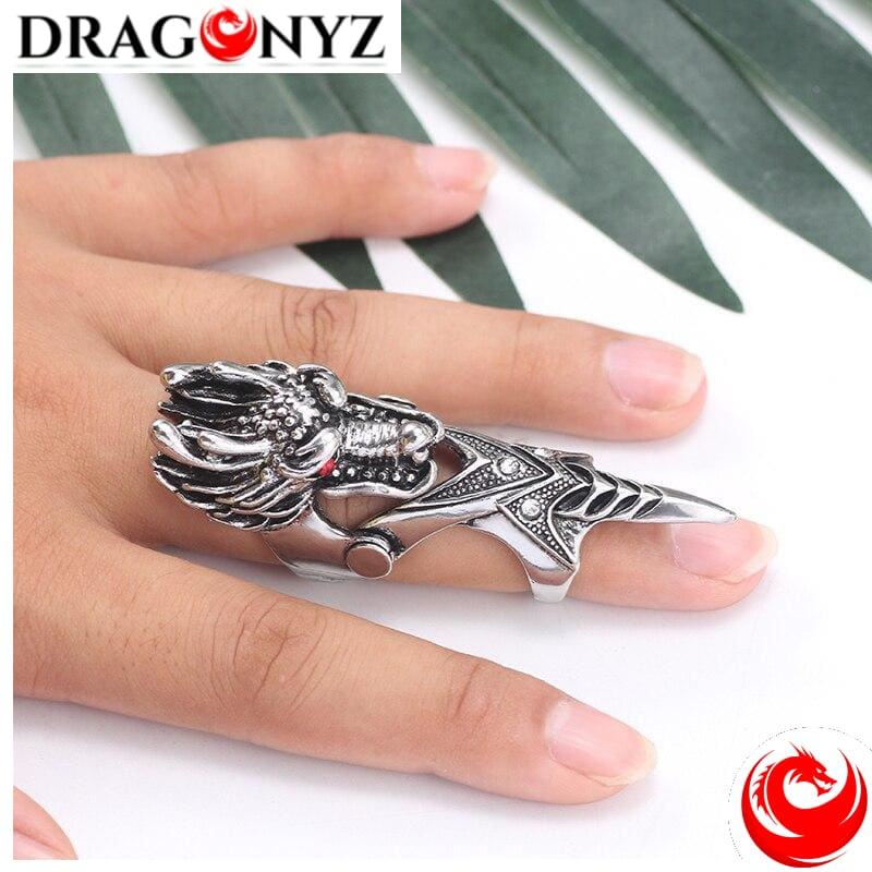 DRAGON RING - LONG FINGER