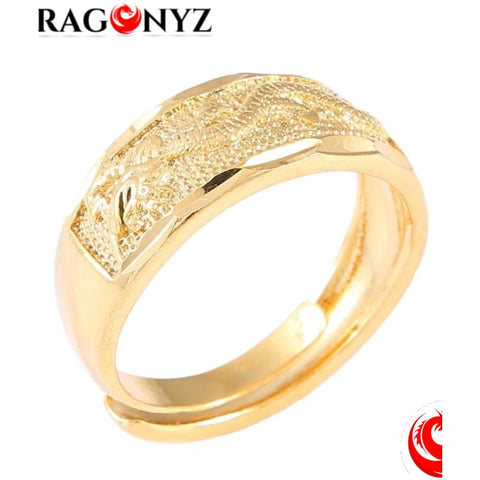 DRAGON RING - PURE GOLD