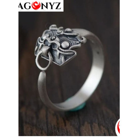 DRAGON RING - SILVER HIGH QUALITY UNISEXE