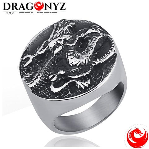 DRAGON RING - STYLE VINTAGE