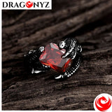 DRAGON RING - VERY GOOD QUALITY SILVER METAL